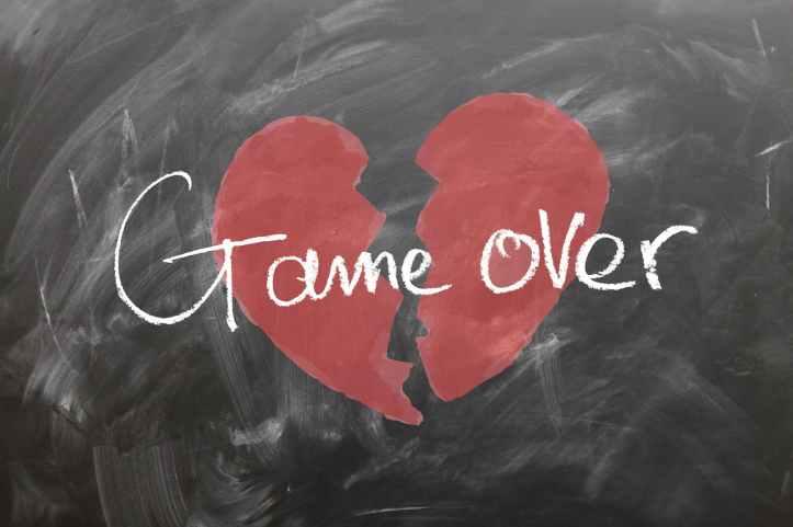 affection board broken broken hearted