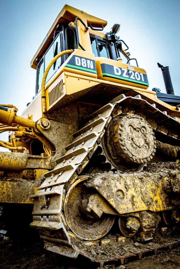 bulldozer construction construction site development